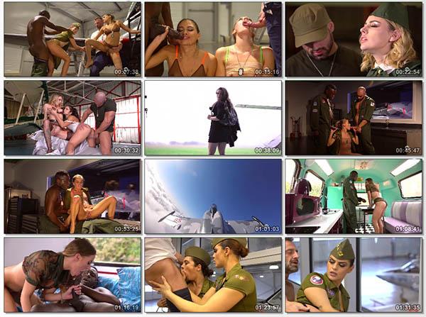 Top Girls, escadrille des avions de chasse